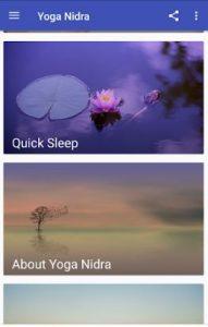 Yoga-nidra-vishapp-startscherm