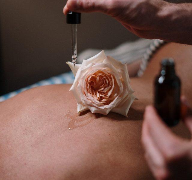 chakra massage olie
